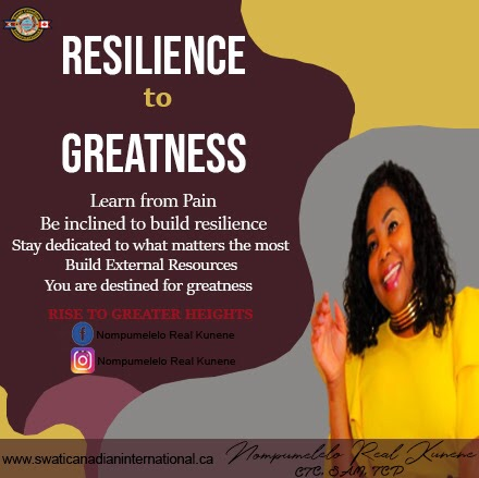 Resilience to Greatness
