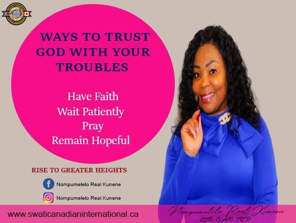 Ways to Trust GOD